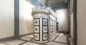 Tomba di Giovanni Rucellai, Cappella Rucellai