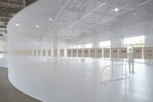 Daniel Steegmann Mangrané, Lichtzwang, 1998 ongoing. Installation view at Pirelli HangarBicocca, Milano 2019. Courtesy l'artista & Pirelli HangarBicocca. Photo Agostino Osio