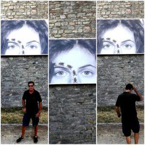 Antonello Matarazzo,Stendale, Mura di Corciano, in un riadattamento di Ernesto D'Argenio,2019
