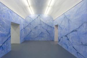 Stanze dei sogni, 2017, wall painting alla Galleria Umberto Di Marino di Napoli. © Danilo Donzelli Photography, courtesy Umberto Di Marino
