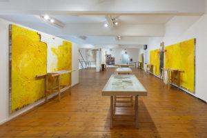 First floor, Museo Archivio Laboratorio per le Arti Contemporanee Hermann Nitsch, Napoli. Ph. Amedeo Benestante © Fondazione Morra