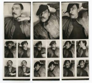 Antonio Lopez, Photo Booth Series, Paris, 1974, © The Estate of Antonio Lopez and Juan Ramos