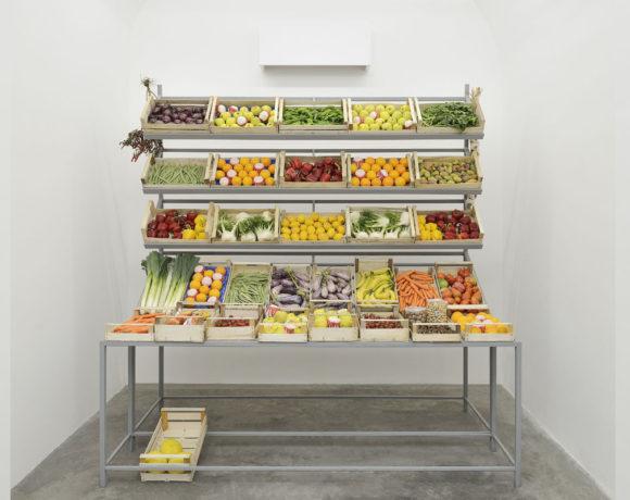 Giuseppe De Mattia, Esposizione di frutta e verdura, courtesy Matèria