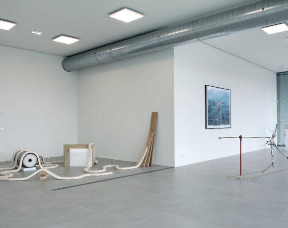 Sculptural Training, exhibition view, mtn - museo temporaneo navile, Bologna