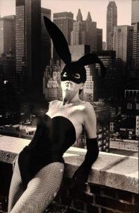 Helmut Newton, Elsa Peretti as a Bunny, New York 1975