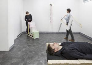 Ivana Spinelli, Contropelo, vista dell'esposizione @GALLLERIAPIU 2020