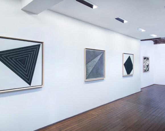 exhibition view, Giulia Napoleone. Nero di China, 2020