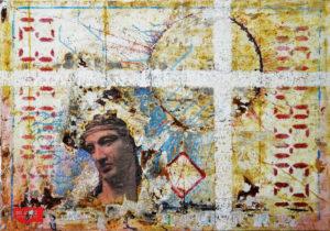 Mauro Milani, L'attesa, 2017, pittura su tela, cm 85 x 105, ph courtesy dell'artista