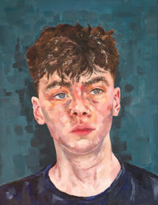 1. Niamh Walker, Brother. Oil on canvas