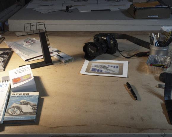 Pierluigi Fresia studio visit
