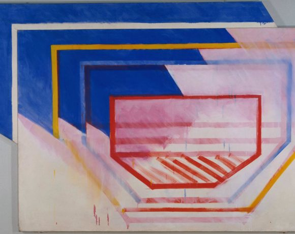 Richard Smith, Vista, 1963, oil on canvas, 2132 x 3174 x 160 mm, courtesy of Richard Smith Foundation license this image