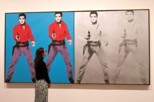 pop:Triple Elvis, Andy Warhol, 1963, Moma, New York