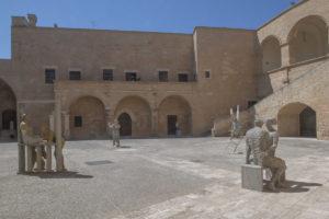 Pietro Guida, Piazze d'Italia, installation view, Castello di Copertino, Lecce, 2020