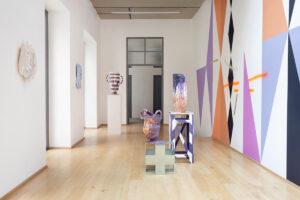 Paolo Gonzato, Pastiche, veduta della mostra, Officine Saffi, Milano. Courtesy l'artista e Officine Saffi. Foto di Alessandra Vinci