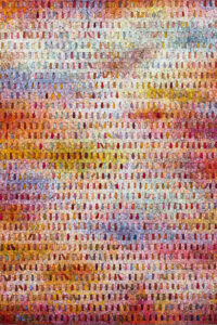 Chun Kwang Young, Aggregation 14-NV054 (Dream 19), 2014, Mixed media with Korean mulberry paper