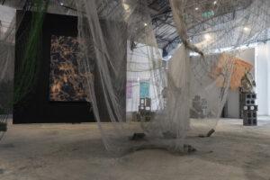 Alexandre Bavard aka MOSA, installazion view. Photo courtesy Guido Borso