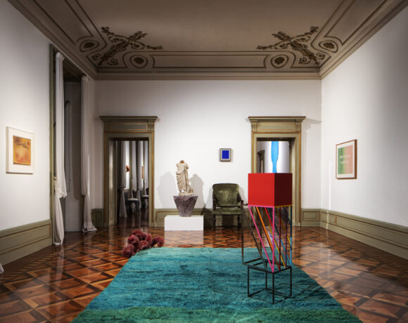 "Alexander Iolas ""Casa Iolas. Citofonare Vezzoli"" © Riccardo Gasperoni"