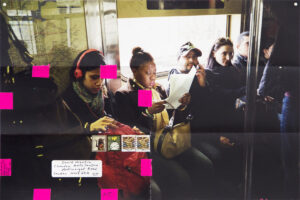 Moyra Davey, Subway Writers, stampa fotografica, ph courtesy National Gallery of Canada