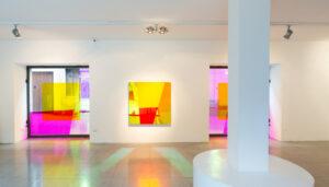 Matteo Negri, Ho le montagne negli occhi, exhibition view, MEB Arte Studio, Borgomanero