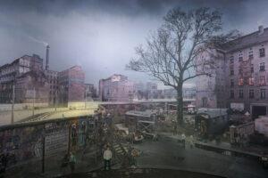 L'arte esce in strada: Tommaso Bonaventura_Berlino, dalla serie 100DM