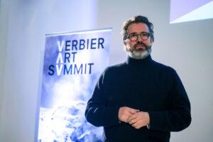 Verbier Art Summit 2018. Olafur Eliasson. Foto © Frederik_ Jacobovits. Courtesy Rihannon Pickles PR
