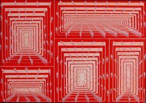 Santiago Ribeiro, Neo oil on canvas 100x80 cm 2001