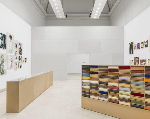 1. Maurizio Vetrugno, installation view, 2020 Art QuadriennaleFUORI, courtesy Fondazione LaQuadriennale di Roma, photo DSL Studio