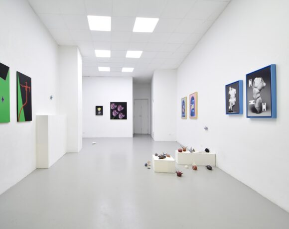 Lunar Stories, exhibition view