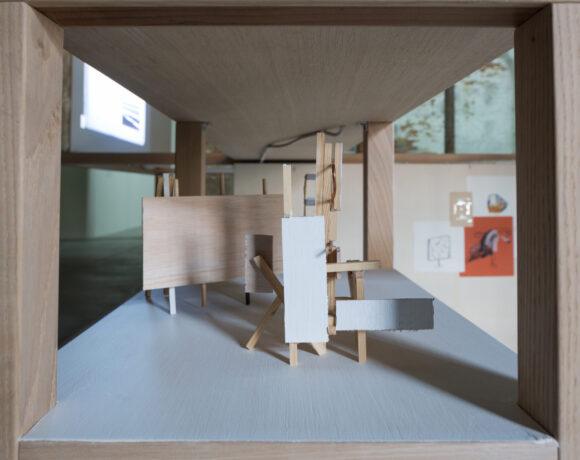 """Marko Tadik, Veduta dell'installazione """"Horizon of Expectations"""" realizzata nello spazio dell'Arsenale, Biennale di Venezia, 2017, ph courtesy dell'artista"""