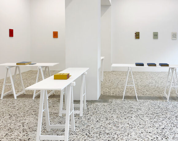 Johan Deckmann. Reading Between the Lines, Installation View, @ the artist and the gallery G_ART_EN
