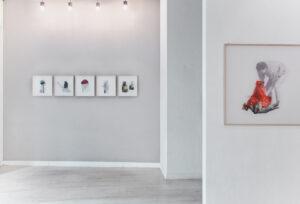 """Alessandra Brown, """"Hostages"""", Curva Pura, Roma 2020"""