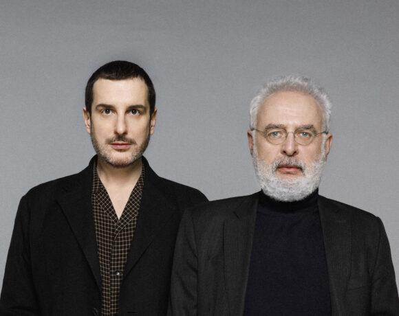 Costantino Della Gheradesca e Francesco Bonami