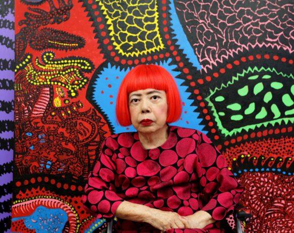 Yayoi Kusama, Potrait Yayoi Kusama, Courtesy: Ota Fine Arts, Victoria Miro & David Zwirner