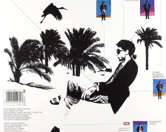 Franco battiato, La Voce del Padrone, 1981, retro copertina