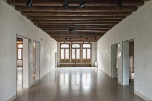 Vista interna di Casa Robegan, ph Giulia Fedel, courtesy Casa Robegan, Treviso
