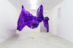 Davide Mineo, Schema Plastico. Installation view, at L'Ascensore, Palermo. Ph. Filippo M. Nicoletti