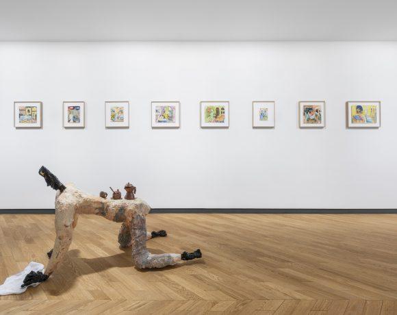 Exhibition view - Sulle Colazioni e sulle Imboscate - Francesco Snote Courtesy of L.U.P.O. - Lorenzelli Projects