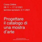 Progettare il catalogo di una mostra d'arte: corso online